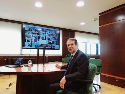 Abel Caballero, presidente de la FEMP y alcalde de Vigo.