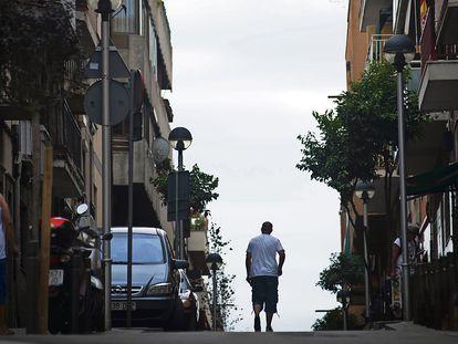 El barrio Trinitat Vella, en Barcelona.