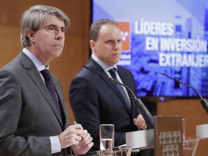 Ángel Garrido y Daniel Lacalle, en 2019.