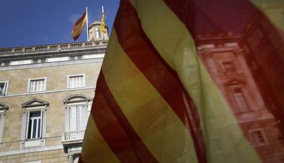 El Palau de la Generalitat.