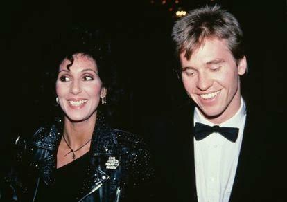 Cher and Val Kilmer at the 1982 Tony Awards.