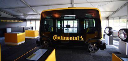 Vehículo autónomo de Continental.