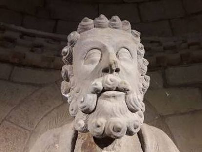 El rostro donde se identifica la mano de Jordi de Déu.