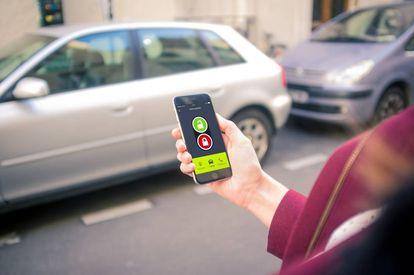App para compartir vehículo.