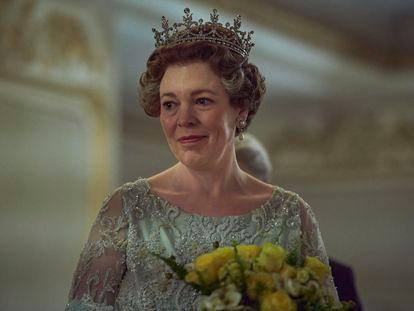Olivia Colman, en la cuarta temporada de 'The Crown'.