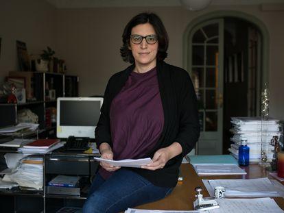 La abogada Júlia Humet, el pasado miércoles.