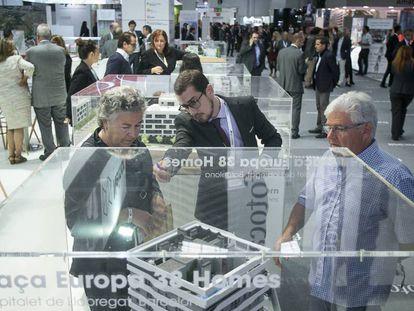 Asistentes al salón Barcelona Meeting Point, el año pasado.