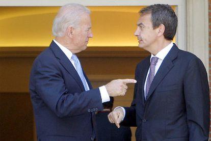 Palomares fue uno de los asuntos tratados por Biden y Zapatero en su reunión de mayo.