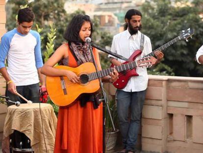 Ditty, en una actuación reciente en India.