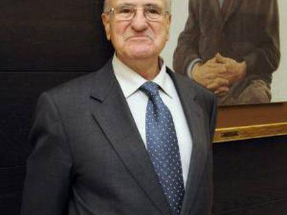 Fotografía facilitada por Telefónica de Cándido Velázquez-Gaztelu, quien ocupó la presidencia de la compañía durante siete años y medio, de 1990 a 1996, y que ha fallecido esta tarde a los 76 años de edad a causa de una larga enfermedad.