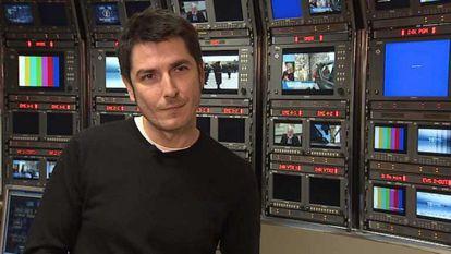 Carlos Amor, periodista de TVE.