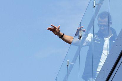 Michael Schumacher, en Mónaco