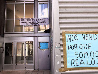 Viviendas en alquiler en Villaverde vendidas a un fondo buitre.