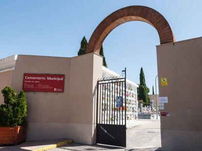 Foto del cementerio municipal de San Sebastián de los Reyes, cedida por IU San Sebastián de los Reyes.