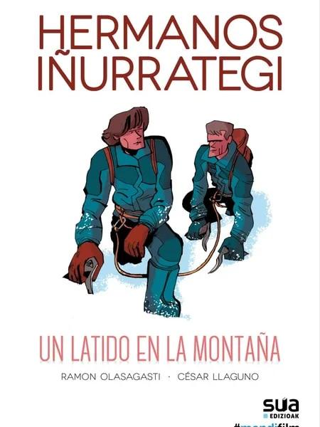 Portada del cómic 'Hermanos Iñurrategi. Un latido en la montaña'