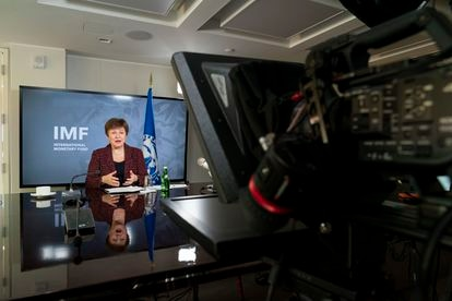 Kristalina Georgieva, directora gerente del FMI, en una imagen de archivo.