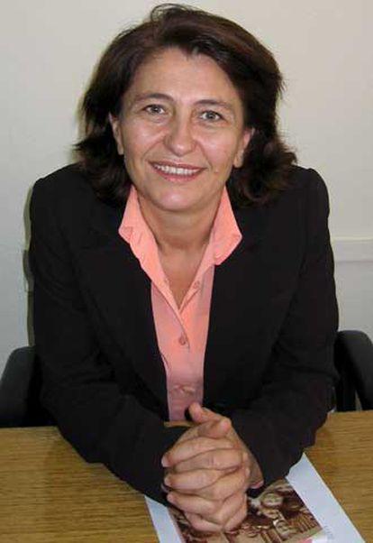 La diputada sociademócrata Güldal Okuducu.