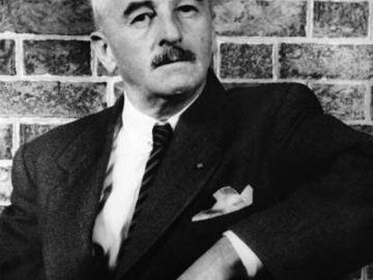 Retrato de William Faulkner realizado por Carl van Vechten en 1954.