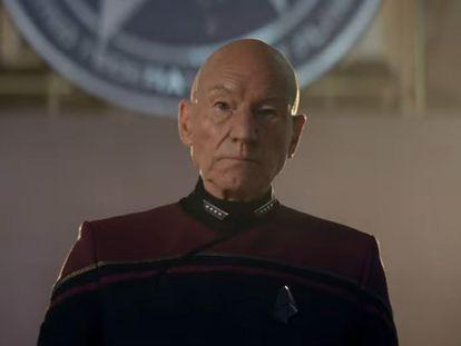 El actor Patrick Stewart, en la nueva temporada de 'Star Trek: Picard', que no llega hasta 2022.