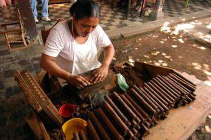 En 2012 Nicaragua exportó puros por valor de 185 millones de dólares. EFE/Archivo