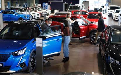 Concesionario de coches en Tarrassa.