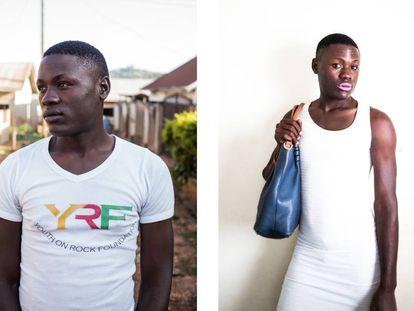 Miss Pride, 18 años. Sus fotos salieron publicadas en los periódicos, se vio obligada a irse de su casa y empezó a trabajar de prostituta.