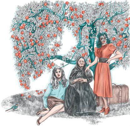 Ilustración para el libro 'Nosotros, los Rivero'.