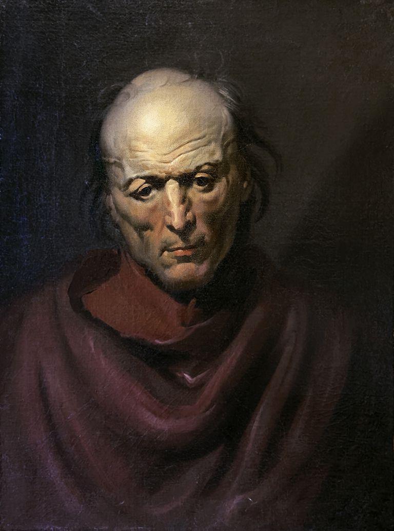 'El hombre melancólico', obra de la serie 'Monomanías' del pintor francés Théodore Géricault descubierta por el científico Javier Burgos