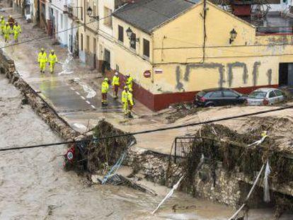 Aviso rojo en Almería, Alicante y Murcia por lluvias torrenciales