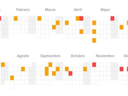 El calendario laboral para Semana Santa: ¿qué día es festivo en tu comunidad?