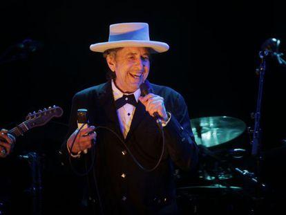 Bob Dylan en el Festival de Benicàssim.