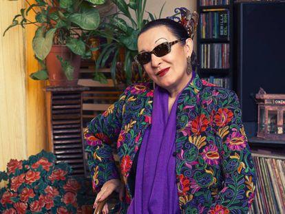 Martirio, retratada recientemente en su casa de Madrid.