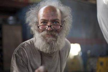 El ingeniero durante su participación en el programa de Discovery Channel 'The Colony'.