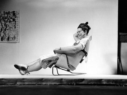 Ray Eames creó multitud de diseños junto a su marido Charles Eames, aunque muchos historiadores se empeñan en darle a ella un papel secundario.