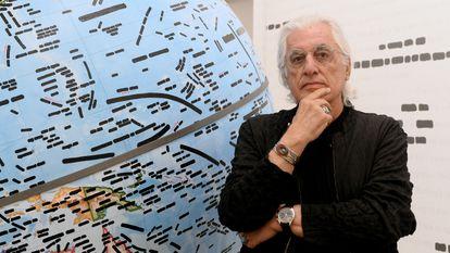 El crítico de arte Germano Celant.