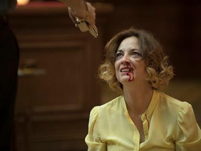 Leonor Watling, en un momento de la serie 'Nasdrovia'.