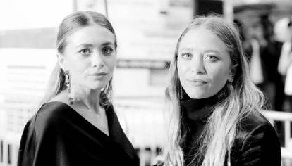 Las populares gemelas Mary-Kate y Ashley Olsen.