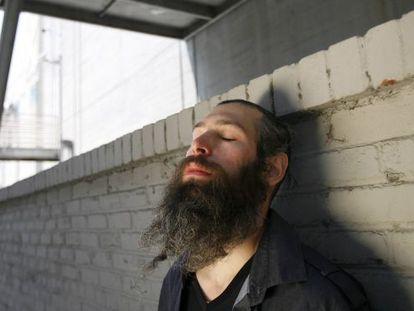 El rapero Matisyahu, con su antiguo 'look', que incluía tirabuzones, barba y kipá.