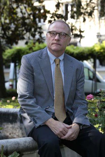 David Card, galardonado en Economía y Finanzas en los premios Fronteras del Conocimiento de la Fundación BBVA.