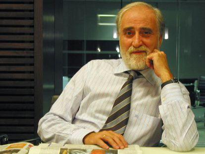 El periodista Xavier Batalla.