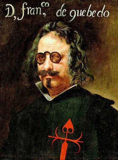 Retrato de Francisco de Quevedo realizado por Juan van der Hamen.
