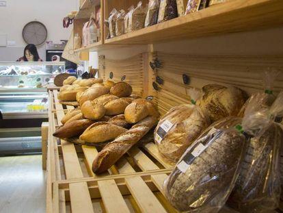 En España hay 14.000 hornos que sirven pan a los comercios.