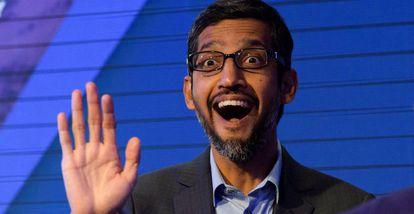 Sundar Pichai, consejero delegado de Google