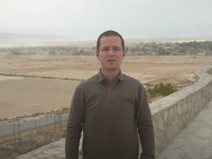 Ricardo Anaya en su reciente video como parte de su campaña presidencial el 23 de marzo de 2021.