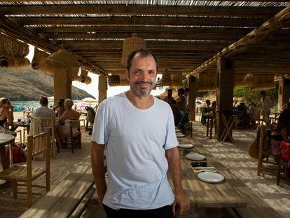 Arnaud Frisch, en El Silencio, en Ibiza, el pasado julio.