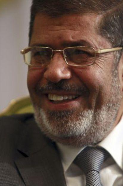 El presidente egipcio, Mohamed Morsi, el pasado 25 de agosto en El Cairo.