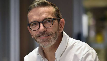 El chef Sebastien Bras en su restaurante Le Suquet el pasado septiembre.