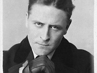 El escritor Francis Scott Fitzgerald.