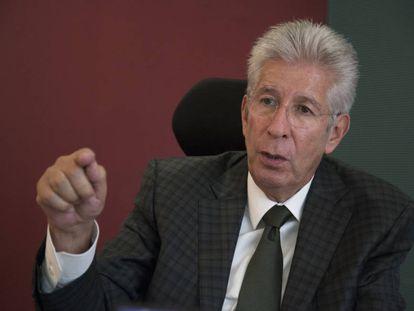 Ruiz Esparza, durante la entrevista.