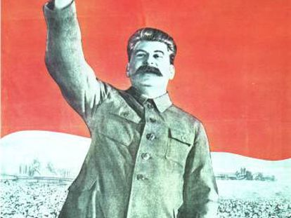 Stalin, en un cartel de 1946.
